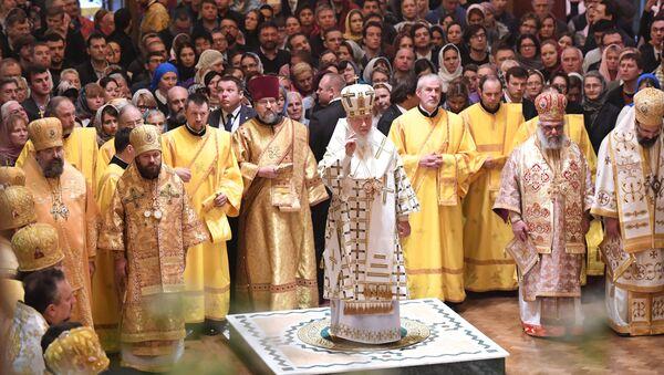 Визит патриарха Кирилла в Великобританию.