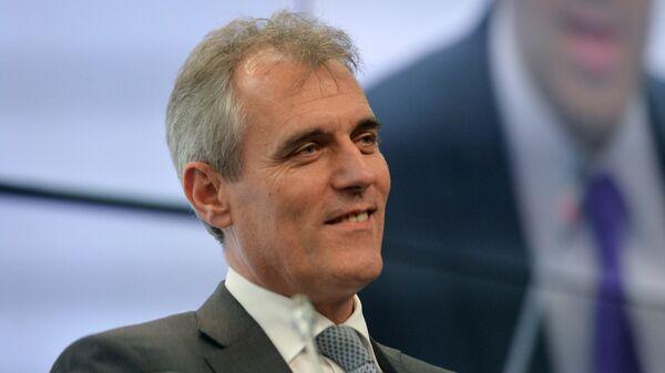 Генеральный директор OMV AG, президент Российско-Германской внешнеторговой палаты Райнер Зеле