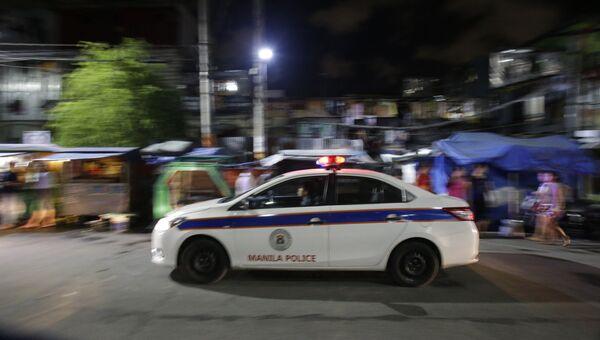 Полиция на Филиппинах. Архивное фото