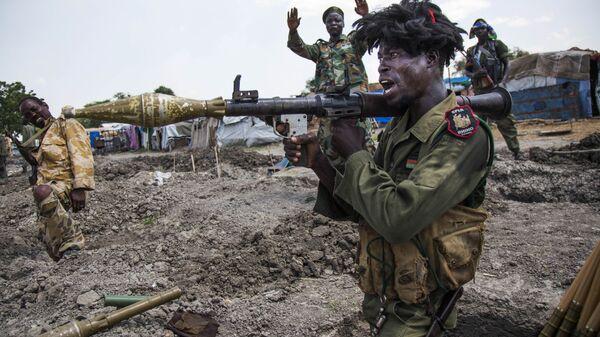 Солдат Народной армии освобождения Судана. 16 октября 2016