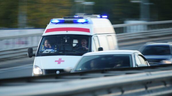 Автомобиль скорой медицинской помощи. Архивное фото