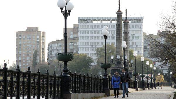 Набережная в Донецке