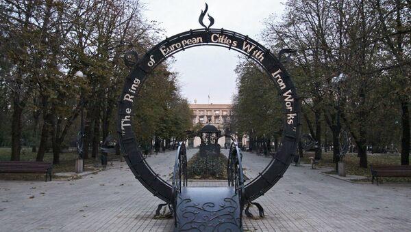 Парк кованых фигур в Донецке. Архивное фото