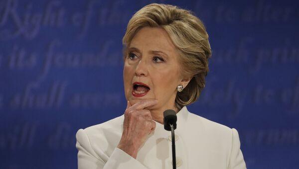 Кандидат в президенты США Хиллари Клинтон. Архивное фото