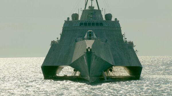 Корабль прибрежной зоны ВМС США LCS-6 Montgomery (Монтгомери)