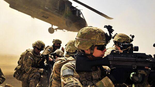 Военнослужащие армии США в провинции Кандагар, Афганистан. Архивное фото