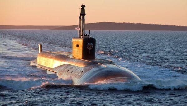 Атомный подводный ракетный крейсер проекта Борей. Архивное фото