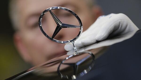 Завод Mercedes в Германии. Архивное фото