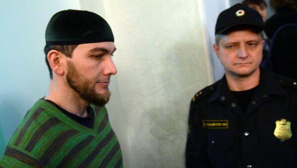 Шадид Губашев на заседании по делу об убийстве Бориса Немцова. Архивное фото