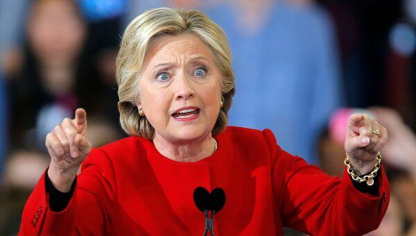 Кандидат в президенты США Хиллари Клинтон в Северной Каролине. Архивное фото