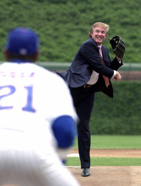 Дональд Трамп. 2000 год