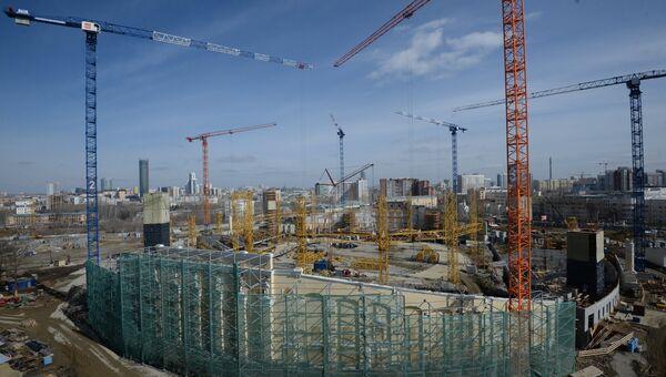 Реконструкция стадиона Екатеринбург Арена. Архивное фото