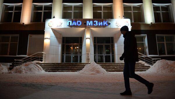 Центральный вход машиностроительного завода имени М.И. Калинина в Екатеринбурге