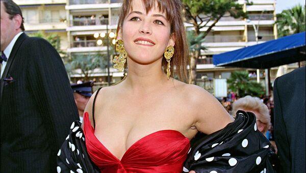 Актриса Софи Марсо в Каннах во время кинофестиваля 8 мая 1992 года