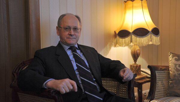 Посол России в Исландии Антон Васильев. Архивное фото