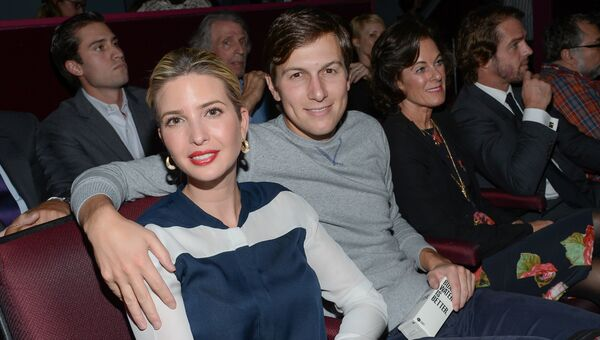 Иванка Трамп и ее муж Джаред Кушнер. Архивное фото