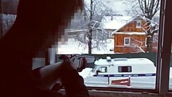 Стоп-кадр из видео, опубликованного в Instagram одного из подростков