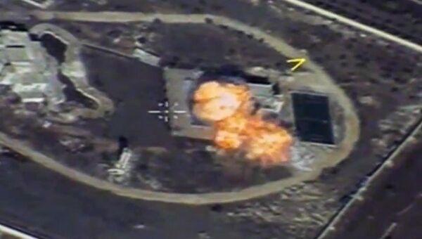 Уничтожение крылатой ракетой объекта незаконных вооруженных формирований на территории Сирийской Арабской Республики