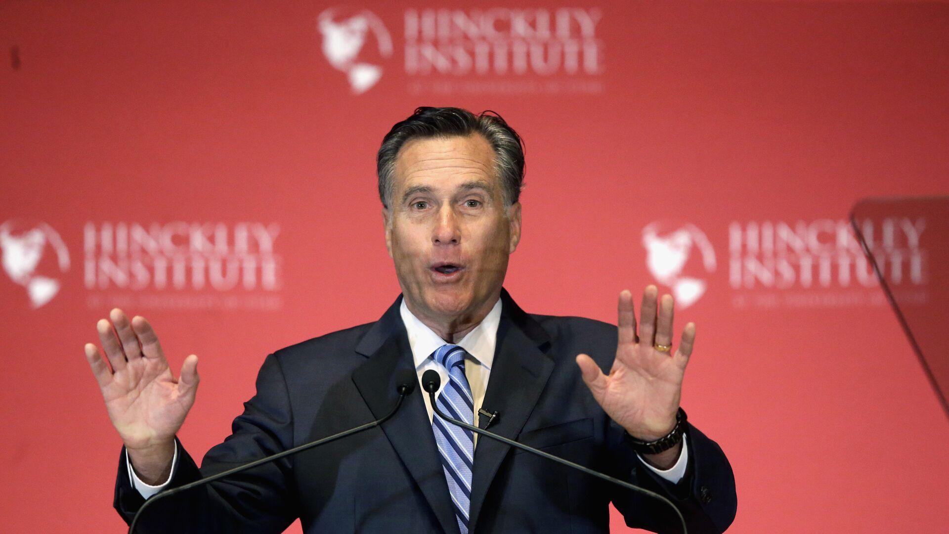 Американский политик Митт Ромни. 2016 год  - РИА Новости, 1920, 20.12.2020