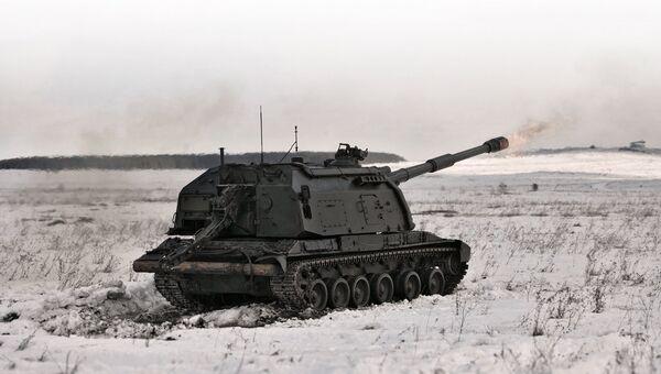 САУ 2С19 Мста-С. Архивное фото