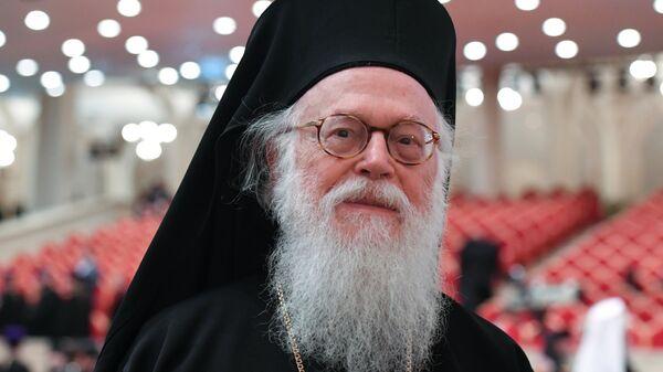 Архиепископ Тиранский и всей Албании Анастасий