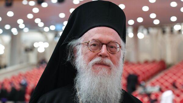 Архиепископ Тиранский и всей Албании Анастасий. Архивное фото