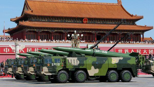 Военный парад в Пекине. Архивное фото