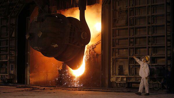 Сталелитейное производство в Китае