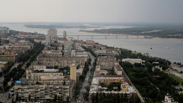 Панорама Волгограда