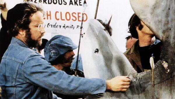 Кадр из фильма Челюсти