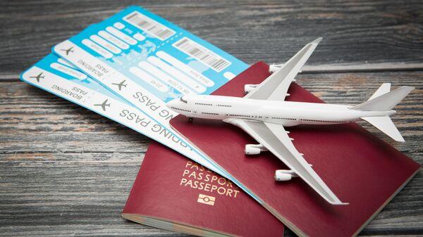 Авиабилеты и паспорта