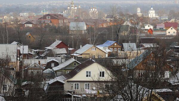 Вид на Переславль-Залесский Ярославской области