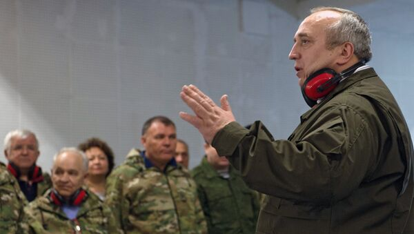 Член комитета Государственной Думы РФ по обороне Франц Клинцевич. Архивное фото