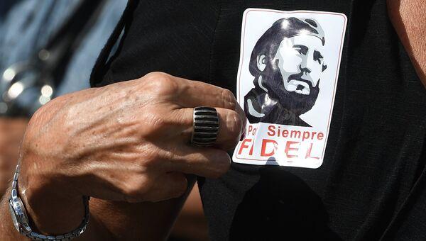 Прощание с Фиделем Кастро. Архивное фото