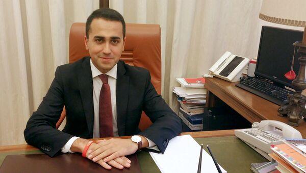 Заместитель председателя Палаты депутатов парламента Италии, один из руководителей влиятельного оппозиционного Движения 5 звезд (Д5З) Луиджи Ди Майо. Архивное фото