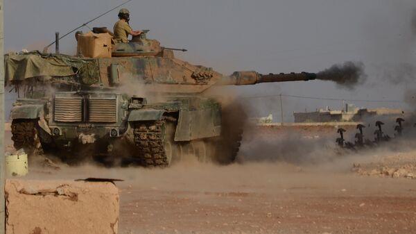 Турецкие войска проводят на севере Сирии операцию Щит Евфрата. Архивное фото