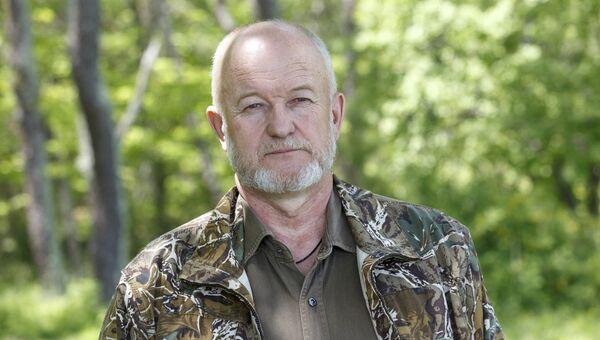 Директор Лазовского заповедника и национального парка Зов тигра Владимир Арамилев. Архив