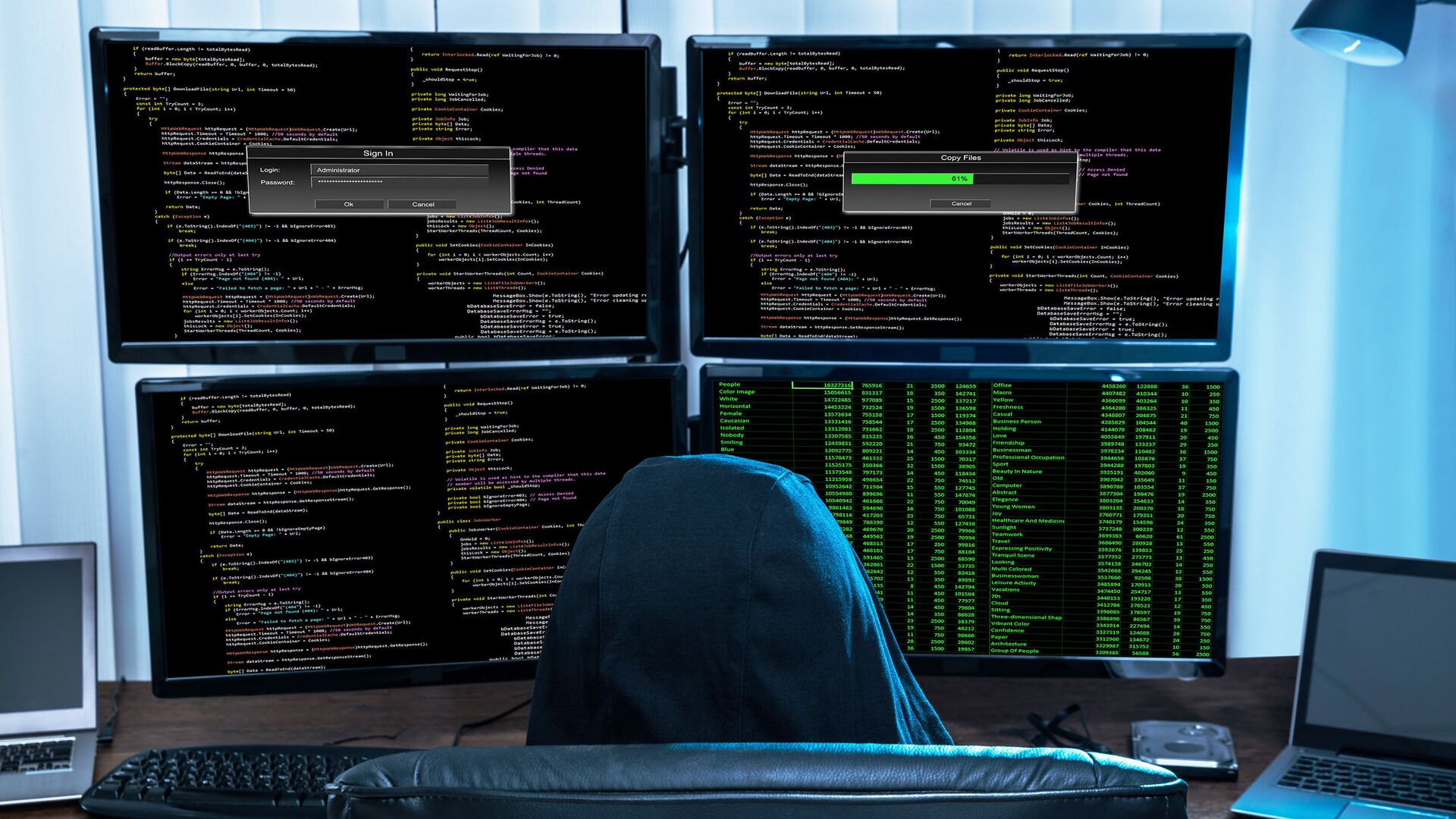 Хакер за компьютером - РИА Новости, 1920, 17.04.2021