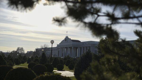 Здание Сената Олий Мажлиса Республики Узбекистан в Ташкенте. Архивное фото