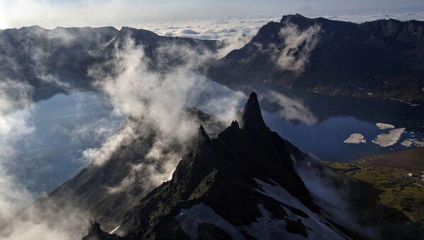 Пик горы Пэктусан. Архивное фото