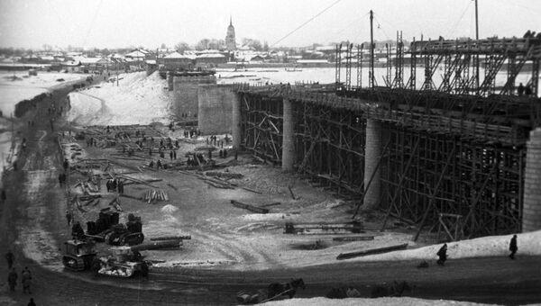 В городе Елец после освобождения. 19 декабря 1941 года