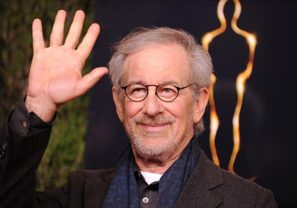 Режиссер Стивен Спилберг на 85-й премии Оскар. 4 февраля 2013 года, Калифорния