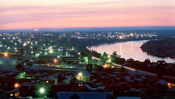 Город Саяногорск. Архивное фото