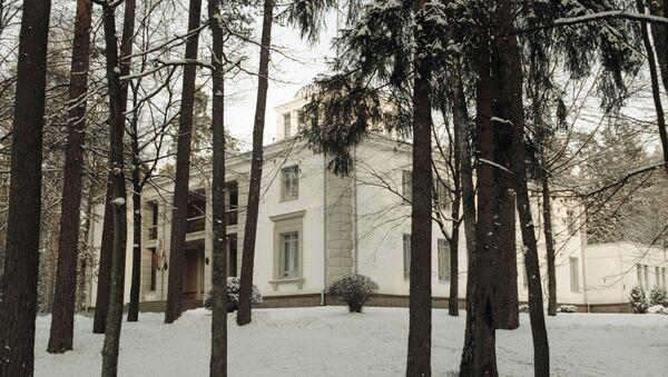 Дом, в котором были подписаны документы о создании СНГ. 8 декабря 1991 года
