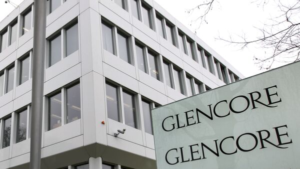 Штаб-квартира компании Glencore. Архивное фото