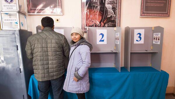 Выборы в Киргизии. Архивное фото