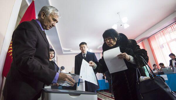 Референдум о внесении изменений в конституцию Киргизии. Архивное фото