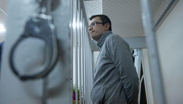 Денис Никандров в Лефортовском суде Москвы. Архивное фото