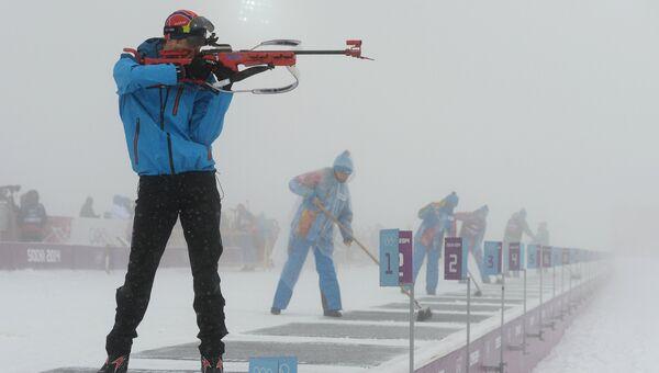 Восьмикратный олимпийский чемпион по биатлону Уле-Эйнар Бьерндален. Архивное фото