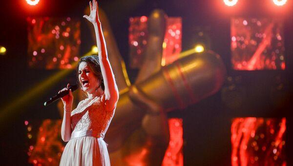 Ксения Коробкова на шоу Голос
